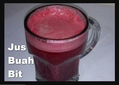 jus buah bit