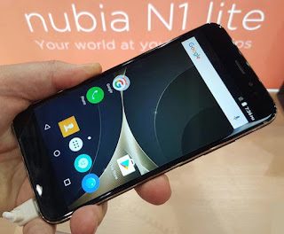 Spesifikasi dan Harga Ponsel ZTE Nubia N1 Lite