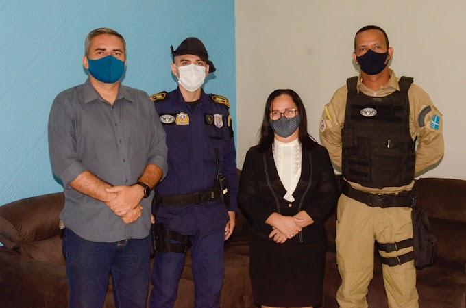 Prefeita Belezinha nomeia oficialmente os novos comandantes da Guarda Municipal e dos Agentes Municipais de Trânsito de Chapadinha.