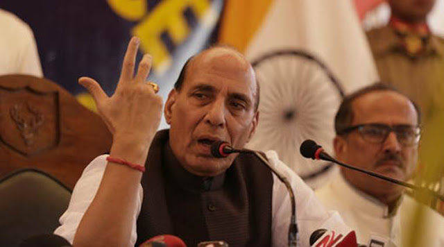 Home minister Rajnath Singh used the opportunity of his visit to Pakistan to slam it, while on its soil, for its support to terror, and for its inaction against UN-designated terrorists like 2611 mastermind Hafiz Saeed. In his address on Thursday to the Home Ministers Conference of SAARC countries in Islamabad, Rajnath said that no terrorism should be glorified. His remarks came against the backdrop of Pakistan PM Nawaz Sharif recently paying tribute to Burhan Wani, a Hizbul terrorist, who was killed in an encounter in Jammu & Kashmir on July 8. Sharif had called him a martyr.