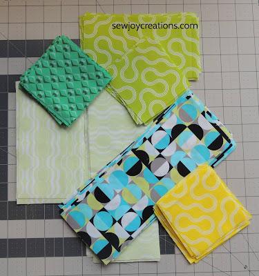 Good Vibes fabric quit block units