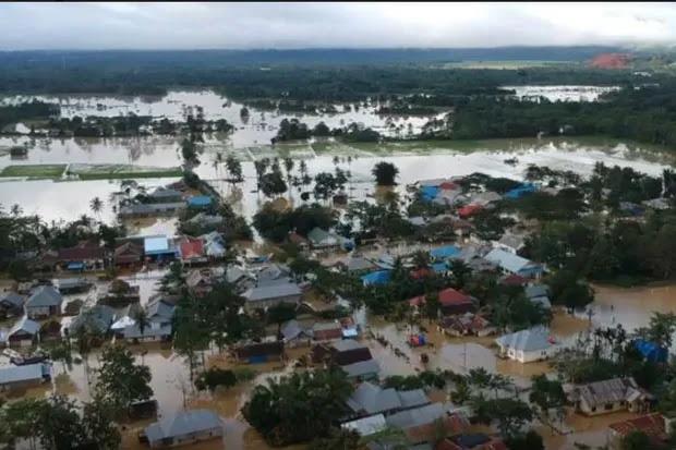 Belum Ada Bantuan Logistik, Korban Banjir Nilai Pemerintah Pusat Tak Peduli Bencana