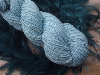 """""""LUFTSCHLOSS""""... handgefärbte Wolle"""