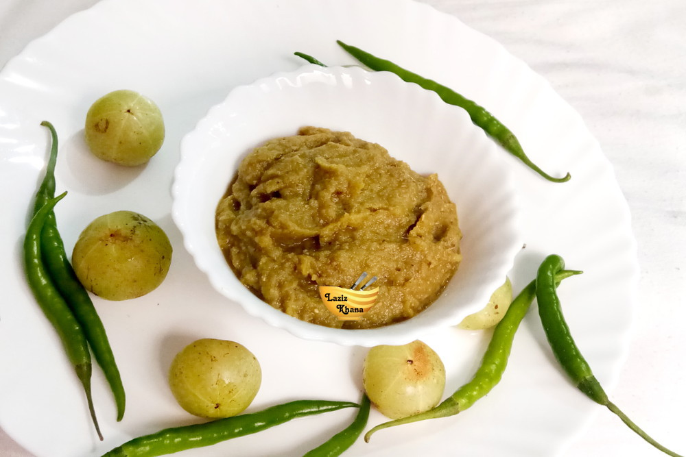 Amla Chutney Recipe in Hindi