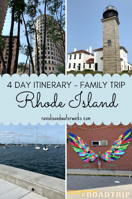 road trip itinerary for traveling to rhode island
