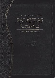Bíblia de Estudo. Palavras-Chave-Preta Clássica (Português)