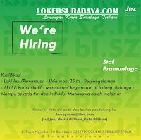 Info Loker Surabaya di Jersey Zone Juli 2020