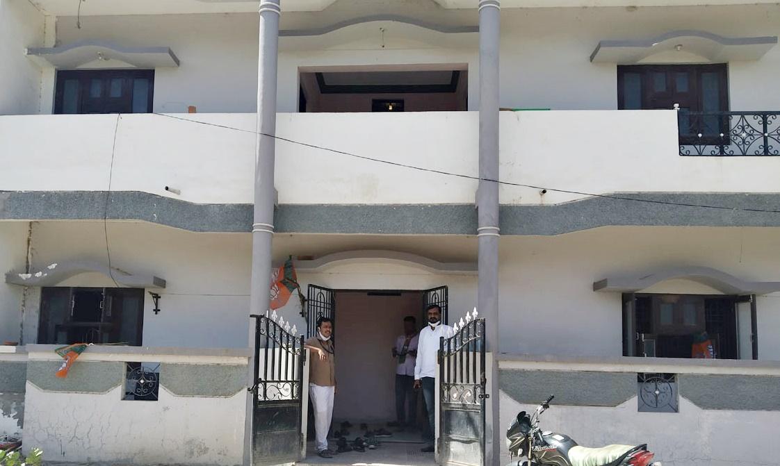 भाजपा के नवीन जिला कार्यालय का शुभारंभ