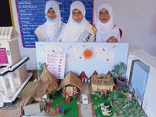 माडर्न कान्वेंट स्कूल में विज्ञान की लगी प्रदर्शनी  | #NayaSaberaNetwork