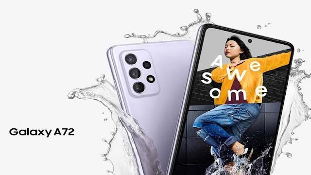 سعر ومواصفات ومميزات وعيوب هاتف سامسونج الجديد Samsung Galaxy A72