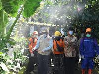 Cegah  Covid-19, Pemkab Sleman Semprot Disinfektan Di Tiga Kecamatan