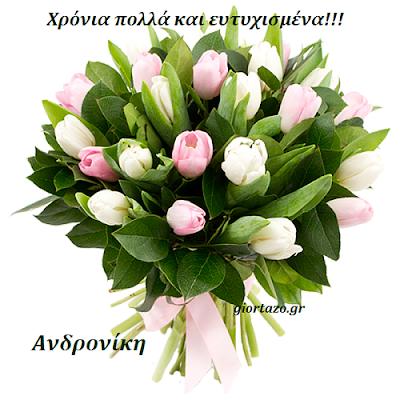 Ανδρόνικος, Ανδρονίκη giortazo