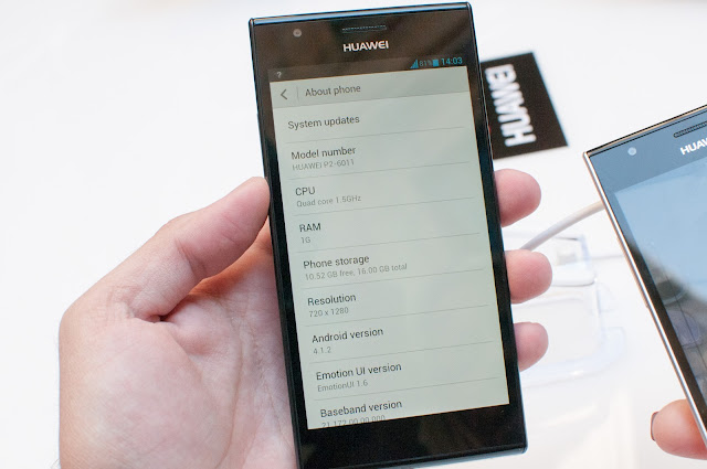 HUAWEI ASCEND P2 Android Smartphone New Mobile Phone Photos, Features Images and Pictures 4