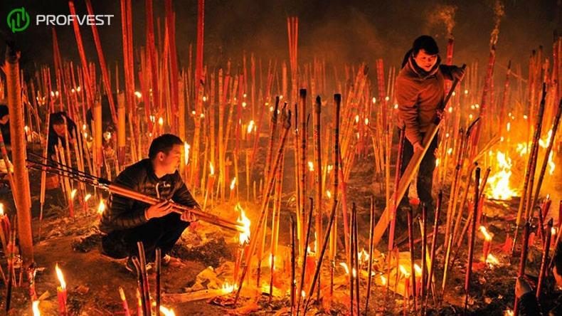 Ритуальные деньги в Китае