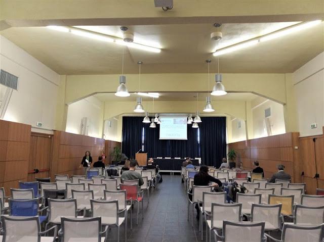 sala conferenze alla bitesp di venezia
