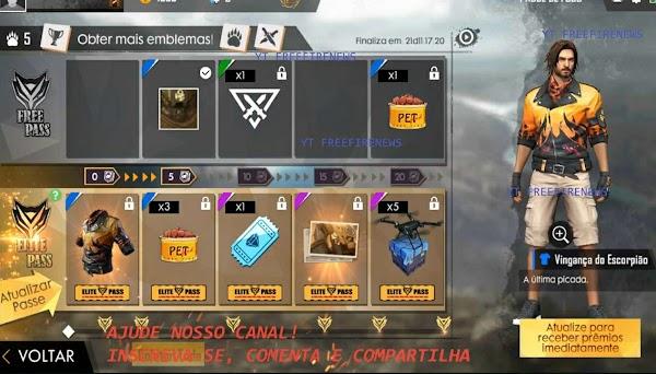 Bocoran Terbaru Elite Pass Season 15 Desert Scorpion