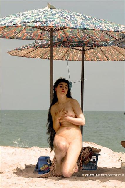 The pearl-William Adolphe Bouguereau-I dipinti classici nella vita contemporanea
