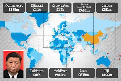 Tembus Rp69.640 Triliun! Ratusan Negara Terperangkap Jebakan Utang China