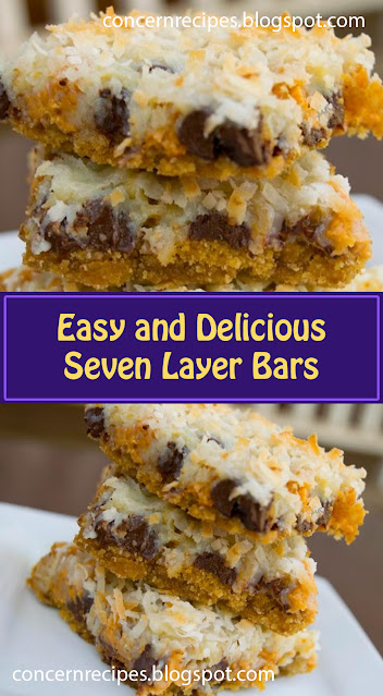 Easy and Delicious Seven Layer Bars