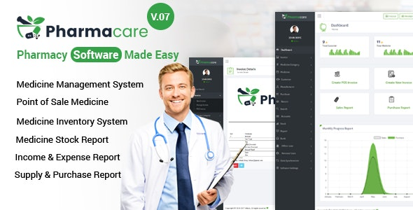 Download Pharmacare v9.1 - Pharmacy Software Made Easy - nulled