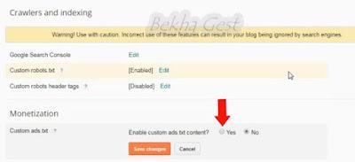 adsense beresiko,mengatasi masalah adsense beresiko,file ads.txt,blogger,