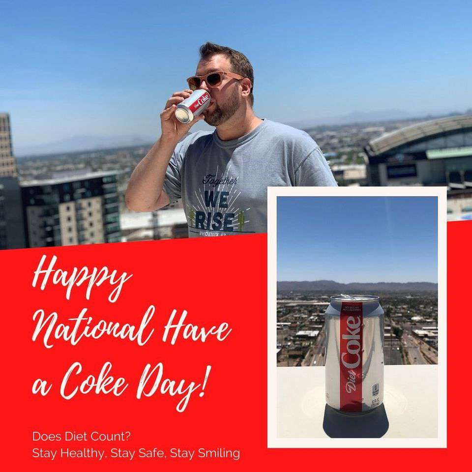 National Have a Coke Day Wishes Images download