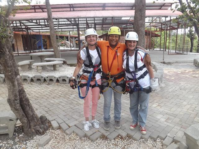 Costa Rica, provincia  Guanacaste, canton Liberia,  Ponderosa Park Adventure