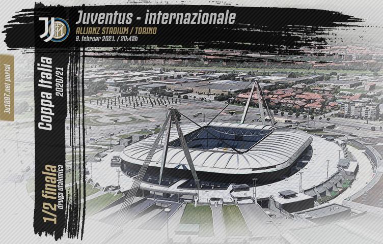 Coppa Italia 2020/21/ 1/2 finala / Juve - inter, utorak, 20:45h