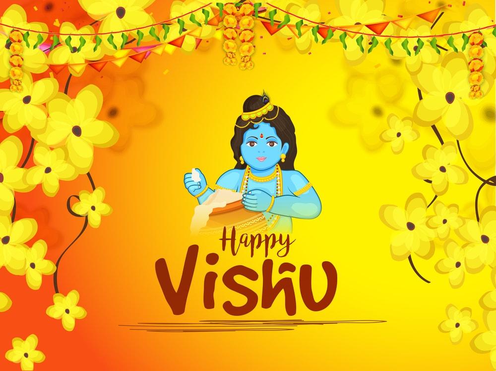 Happy Vishu 2017 Wishes In Malayalam English