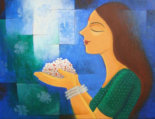 Paintings by Priya Borse at Pradarshak, Mumbai
