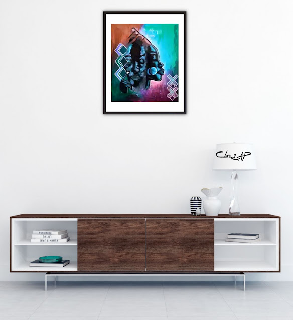 Clovis AP Everlasting Art Print - KING Clovis AP The Artist