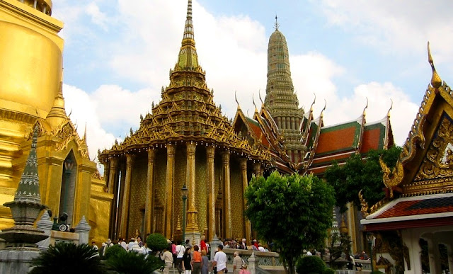 Grand Palace di Bangkok Thailand