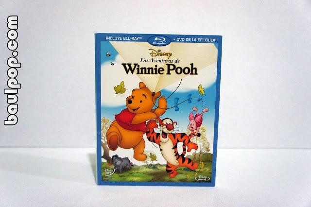 Las Aventuras de Winnie Pooh, combo blu-ray + dvd con slipcover