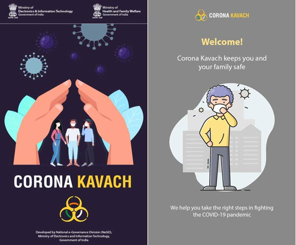 How to Download and Install Corona Kavach app on Mobile Phone