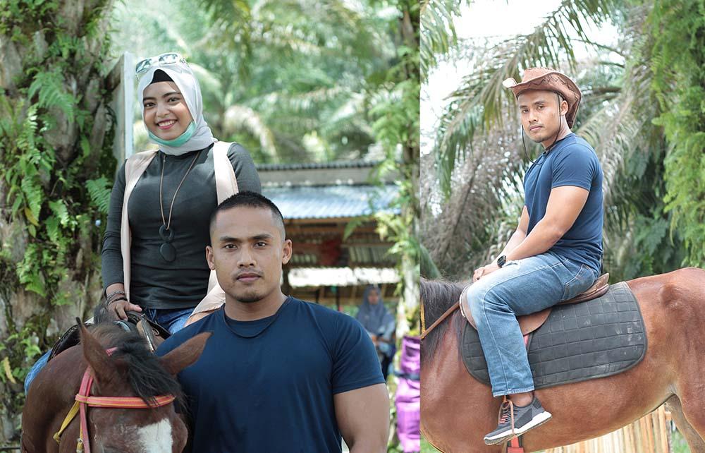 Main Kuda Bareng Dia di Andalus Wisata Keluarga, tempat wisata di riau pekanbaru, tempat wisata di kampar