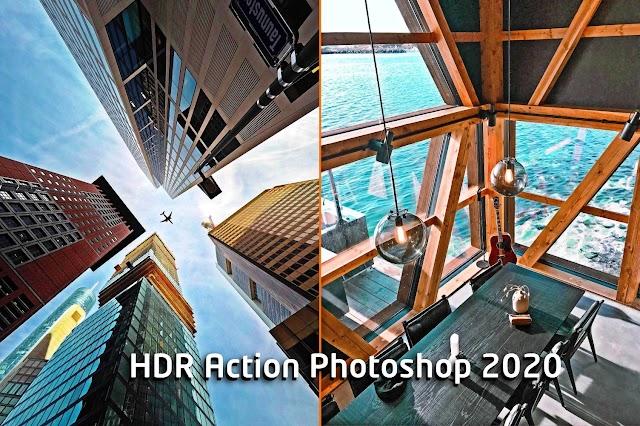 اكشن فوتوشوب لمعالجة الصور HDR Action 2020