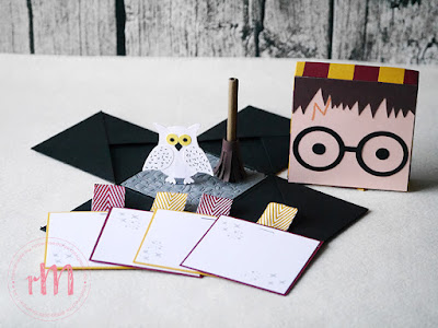 Stampin' Up! rosa Mädchen Kulmbach: Harry Potter Explosionsbox