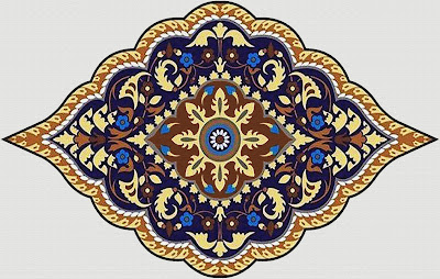 DAMASK VECTOR  TEXTILE REPEAT