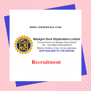 Mazagon Dock Recruitment 2019 for Rigger, Electrician (366 Vacancies)