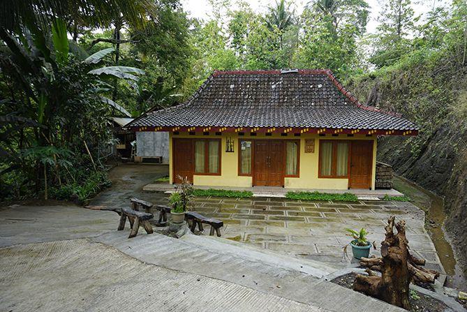 Salah satu homestay di Desa Wisata Hargowilis