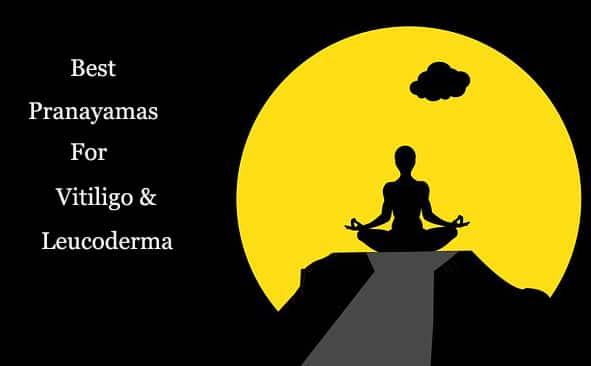 best pranayama for leucoderma