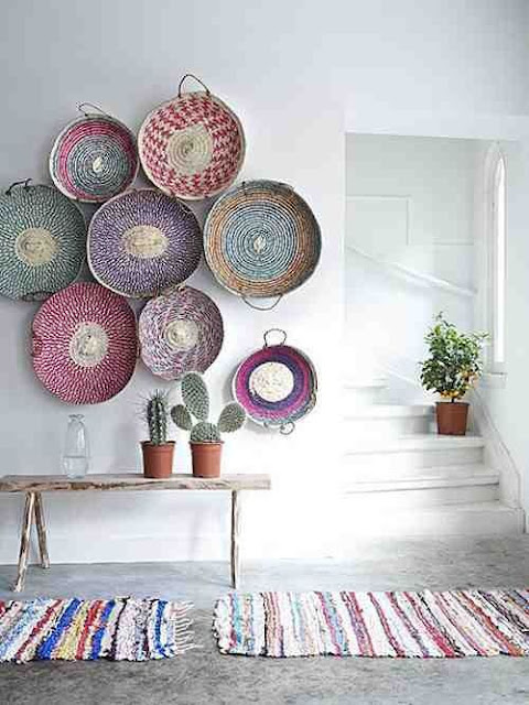 Ideas para decorar recibidores pequeños-19