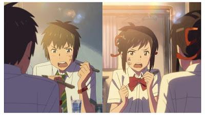rekomendasi terbaik anime romantis kimi no nawa taki and mitsuha