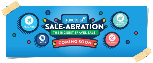 Melancong dan Jimat!! dengan Traveloka Sale-Abration The Biggest Travel Sale!