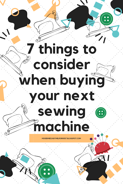 buying a new sewing machine, what features to consider