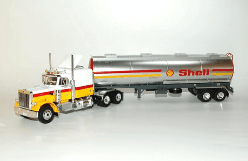Peterbilt 359 1:43 shell, camiones 1/43, camiones americanos 1:43, coleccion camiones americanos 1:43, camiones americanos 1/43 altaya españa