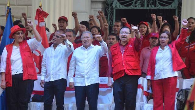 El 67% de los salvadoreños cree que El Presidente es Manipulado por su Gabinete y  el FMLN