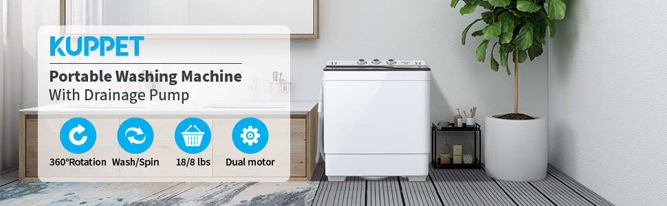 kuppet portable washing machine 2021