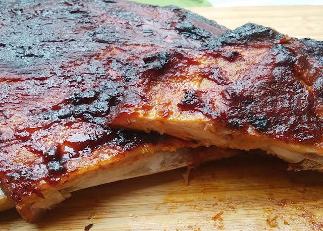 Costillas BBK 🍖 ribs de cerdo 🐷 en HORNO, TIERNAS y JUGOSAS