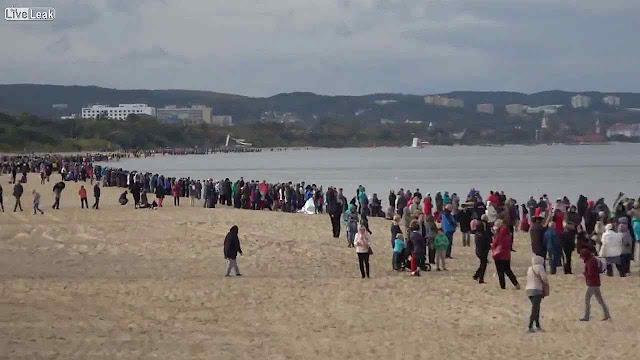 'Rosário nas Fronteiras' nas praias do Mar Báltico